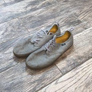 Sanuk grey sneakers size 7